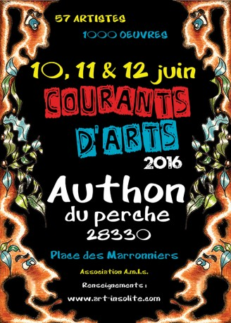 Affiche courants d'arts
